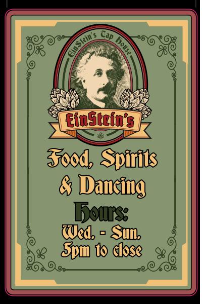 Einstein's Tap House Hours