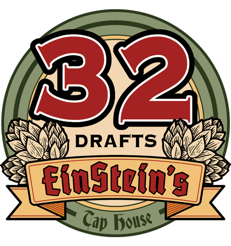 Burlingtons Largest Beer Selection is at Einstein's Tap House